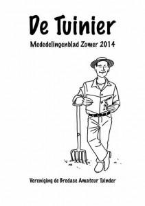 cover tuinier zomer 2014