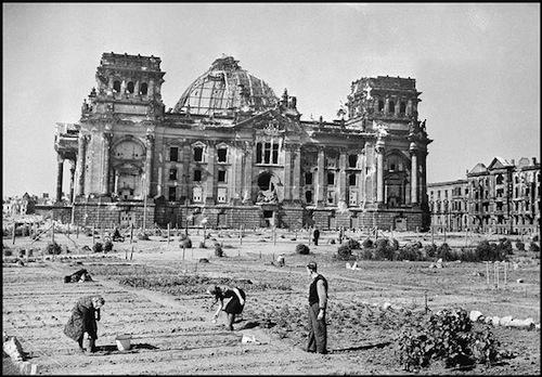 Berlijn 1946 veranderde in één grote stadstuin